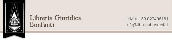 Libreria Giuridica Antiquaria Bonfanti