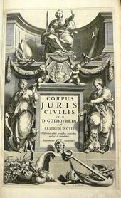 L' edizione in Folio del Corpus Juris Civilis Elzevir.