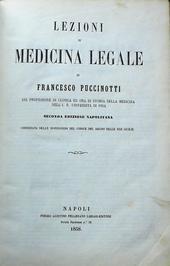 Lezioni di medicina legale. Seconda edizione napolitana