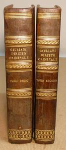 Il principale commento alla Legislaz. Penale Gregoriana