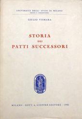 Storia dei patti successori.