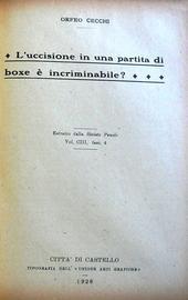Raccolta di 18 opuscoli dal 1915 al 1926