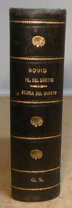 Bovio. Filiosofia del Diritto - Storia del Diritto Ital