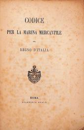 Codice per la Marina Mercantile del Regno d'Italia 1877
