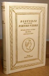 Discorsi del Conte Pietro Verri sull'indole del Piacere