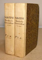 Il Sistema Ipotecario Toscano nell'800 di J. Sabatini.