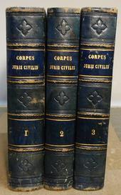 La celebre ed. Fratres Kriegeli del Corpus Iuris Civili
