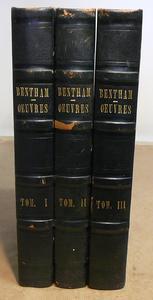 Le Opere di Bentham nella 3a edizione francese in 4°.