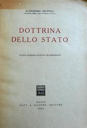 La dottrina dello Stato. 8a edizione riveduta e aggiorn