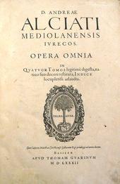 I commenti di Alciati alle Pandette. Opera Omnia t. I°.