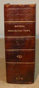 Manzini. Manuale di Procedura Penale italiana. 1a ediz.