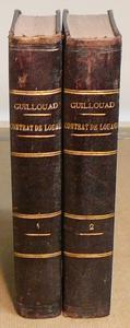 Traité du Contrat de Louage Livre III, titre VIII code