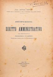 Rispoli. Istituzioni di Diritto Amministrativo.