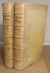 Le 762 Decisioni Rotali del bolognese Aless. Caprara.