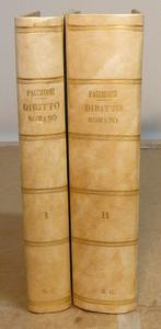 Corso di Diritto Romano. Voll. I°, II°. Prima edizione.