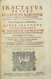 Capobianco. Una famosa opera sul feudalesimo campano.