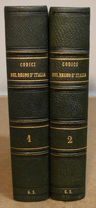 I 6 Codici della Italia unità in una bella edizione.