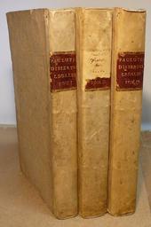 Paolucci. Dissertationes Legales complectens materias