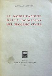 La modificazione della domanda nel processo civile.