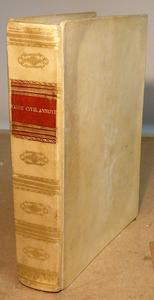 Le Code Civil in una splendida legatura in pergamena.