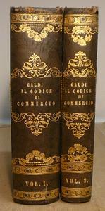 Codice di Commercio del Regno (1882) con Fonti e Motivi