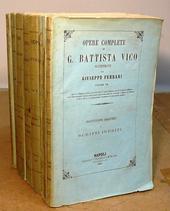 Vico. Opere complete illustrate da Giuseppe Ferrari.