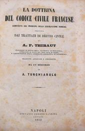 La dottrina del Codice Civile Francese col Dir. Romano.
