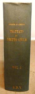 Chironi - Abello. Trattato di Diritto Civile Italiano.