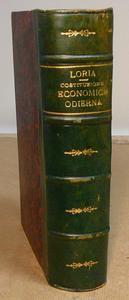 Loria. La Costituzione Economica Odierna.
