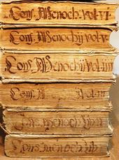 Menochio. Consiliorum sive Responsorum. Liber I°-VI°