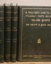 Diritto Civile Italiano nella celebre opera di Pacchion