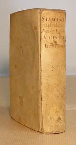 De Armis Romanis di Gentili e l'Epistola di S. Verino.