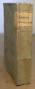 Codice Civile Universale Austriaco. Ed. Vienna 1815.