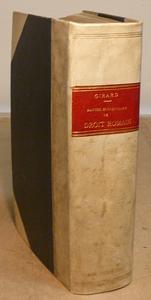 Girard. Manuel elementaire de Droit Romain. Sixieme ed.