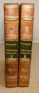 Il raro Dizionario del Diritto Commerciale di Foramiti.