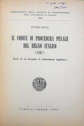 Il Cod. di Proc. Penale del Regno Italico (1807).