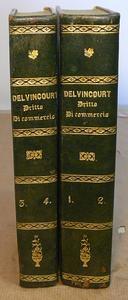 Delvincourt Istituzioni di Diritto Commerciale Francese