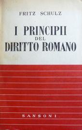 I principii del diritto romano.