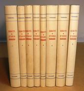 Scritti di Storia Giuridica - Voll. I-VIII
