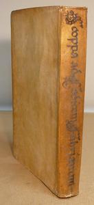 Le note del napoletano Scoppa al Codex Fabrianus, 1702.