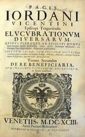 Elucubrationum diversarum quibus pleraque ad Episcopi