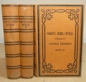 L' edizi. Fratres Kriegeli del Corpus in bella legatura