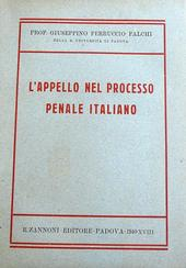 L'appello nel processo penale italiano.