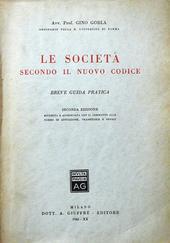 Le Società secondo il nuovo codice.