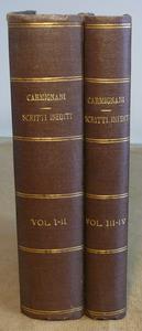 Scritti inediti. 1-4 Storia della filosofia del diritto