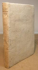 Istituta Civile divisa in quattro libri.