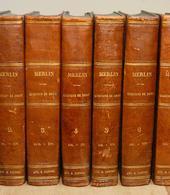Le Questions de Droit del celebre Avv. francese Merlin.
