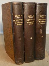Explication Historique des Instituts de l'Imp. Justinen