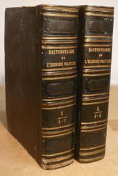 Dictionnaire de l'Economie Politique. Contenant l'expos