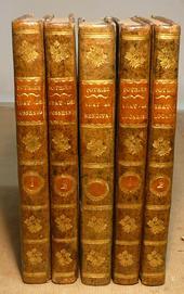 3 Trattati di Pothier in una affascinante legatura.